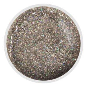 GXHGS Gel Galaxy Holográfico Silver Glitter