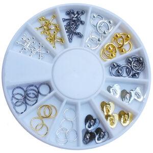 Carrossel de Piercings e Formas Metalicas