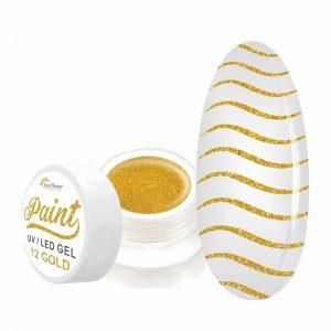 paint gel 13 gold