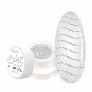 paint gel silver 11