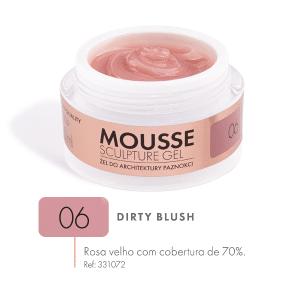 dirty blush mousse gel