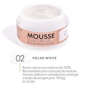 mousse gel Polar white